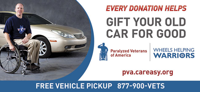 Donate your car to PVA