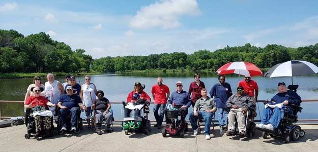 VPVA Veterans at Busse Woods Fishing derby