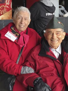 Congratulations to Mr. Francis Fred Rosin, Vaughan Chapter Paralyzed Veterans of America member, Hero of the Game at Chicago White Sox Opening day.