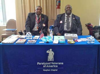 VPVA Service Officers, Outreach ALS greater Chicago, Winston Woodard, III & Robert Statam